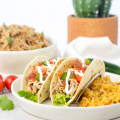 #ad, #PaceTacoNight, Salsa Pulled Pork Tacos, crockpot pulled pork taco, slow cooker pulled pork tacos, pork shoulder in the slow cooker, taco recipe, recipe with Pace
