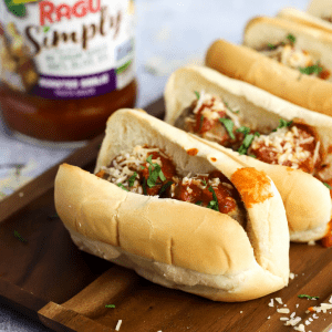 #ad Meatball Subs, how to make meatballs, game day recipe, football food ideas, onion sauce, #DorotGardens #KitchenHack , @mydorotgardens , organic snacks, @latejulyorganic , best game day recipes, breadcrumbs
