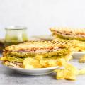 Turkey Gouda Panini, turkey sandwich, lunch ideas, lunch recipes, sandwich ideas, hot sandwich recipe, recipes with pesto, #lunchtime