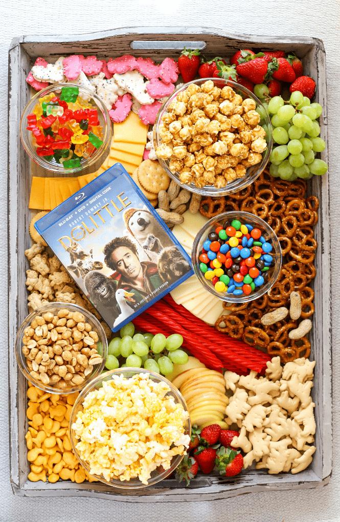 Movie Night Snack Board | Simply Made Recipes