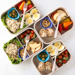 Tuna Salad with Brown Rice Meal Prep, ad, minute rice recipe, lunch recipe with rice, classic tuna salad, kids lunch, lunch ideas for work, bento box lunch,